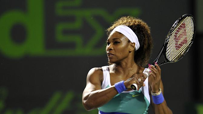 Tennis: Sony Open-Williams vs Radwanska