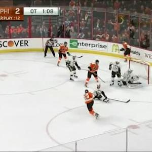 Claude Giroux Goal on Thomas Greiss (03:57/OT)
