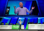 "<p>               FILE - In this Sept. 13, 2011 file photo, Steven Sinofsky, president of Windows and Windows Live, gives the keynote address and a preview of Windows 8 at the Microsoft Build Windows conference at the Anaheim Convention Center in Anaheim, Calif. A test, or ""beta"", version of the revamped operating system will be unveiled Wednesday, Feb. 29, 2012, in Barcelona, nudging it a step closer to its anticipated release next fall.(AP Photo/The Orange County Register, Mark Rightmire, File) MAGD OUT; LOS ANGELES TIMES OUT"