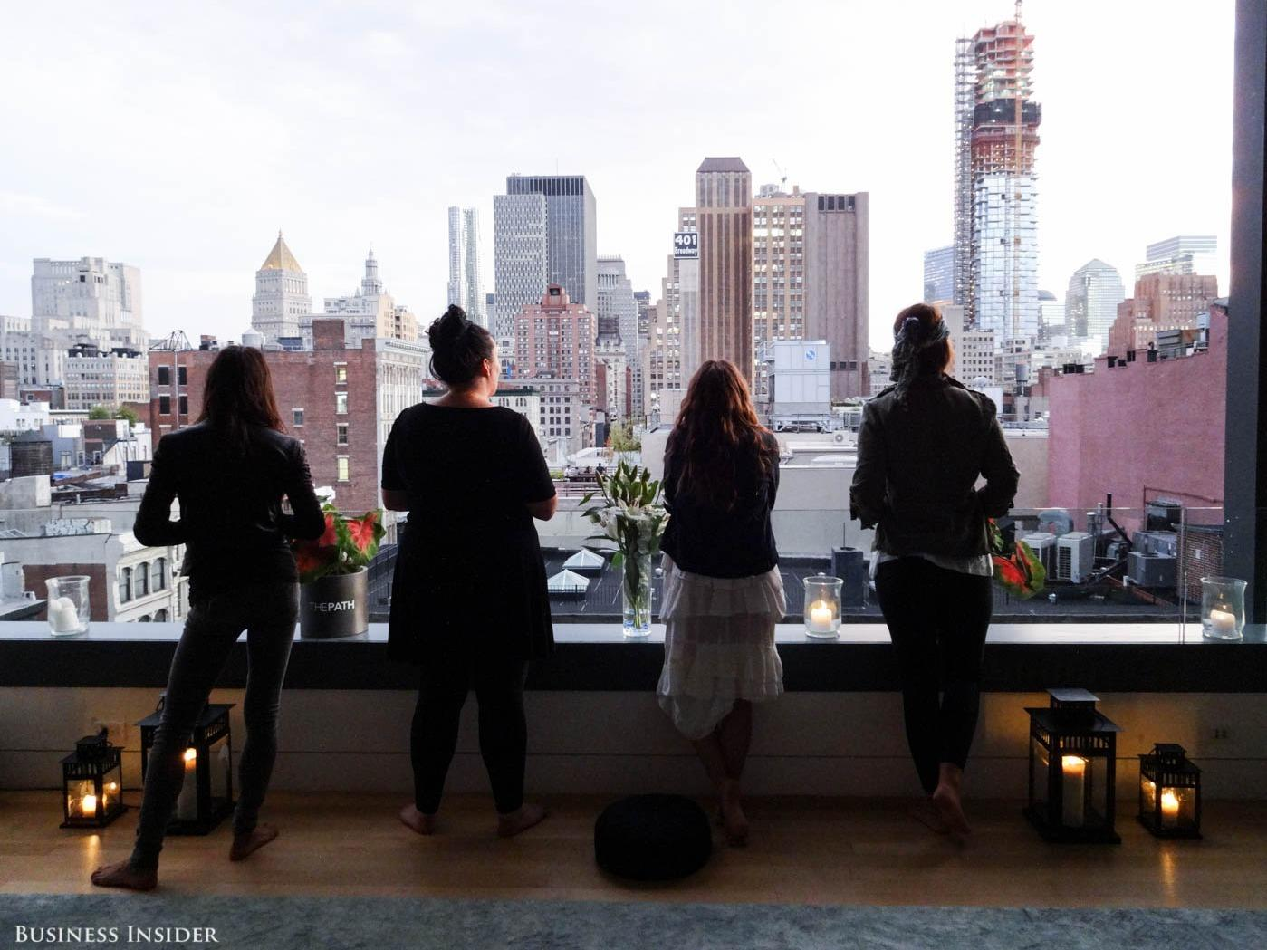 Rich New Yorkers are opening their gorgeous homes to stressed-out professionals searching for peace
