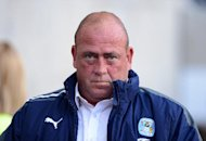 Coventry boss Andy Thorn was not happy his side were denied a goal late on against Sheffield United