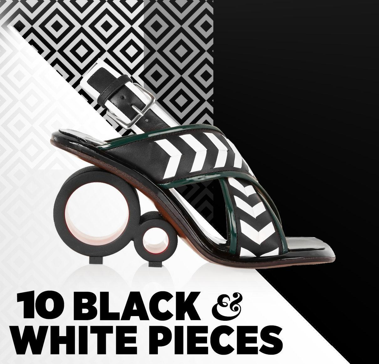 10 Black and White Pieces You Can Pull Off in Spring