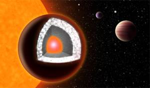 Super-Earth Planet Likely Made of Diamond