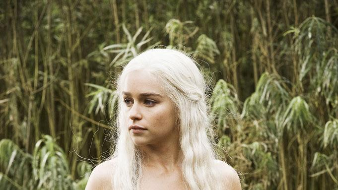 "Emilia Clarke stars in ""Game of Thrones."""