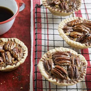 Chocolate-Pecan Tartlets