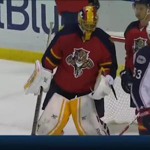 Columbus Blue Jackets at Florida Panthers - 01/29/2015