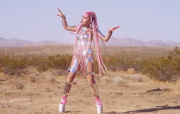 Stylons, Claire Boucher, Grimes, Genesis, official music Video, Musikvideo, Brooke Candy, Claire Boucher