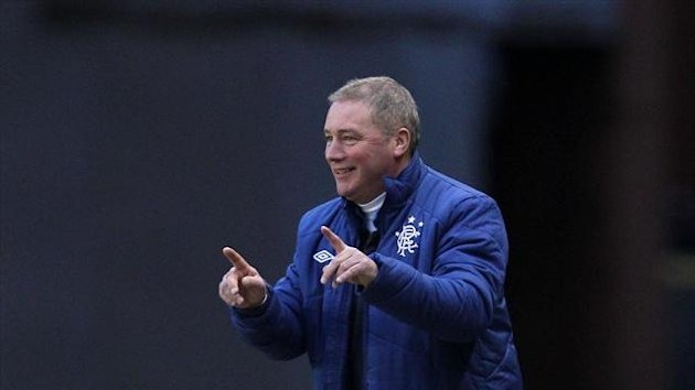 Ally McCoist was not impressed with some of his senior players