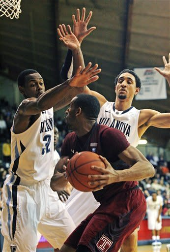 Temple tops Villanova 76-61, stays unbeaten