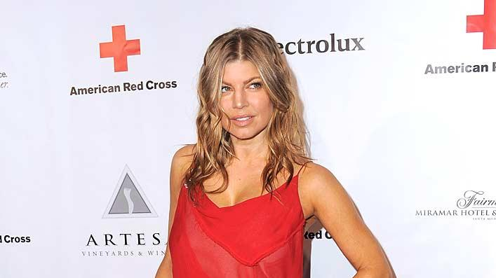 Fergie Red Cross Event