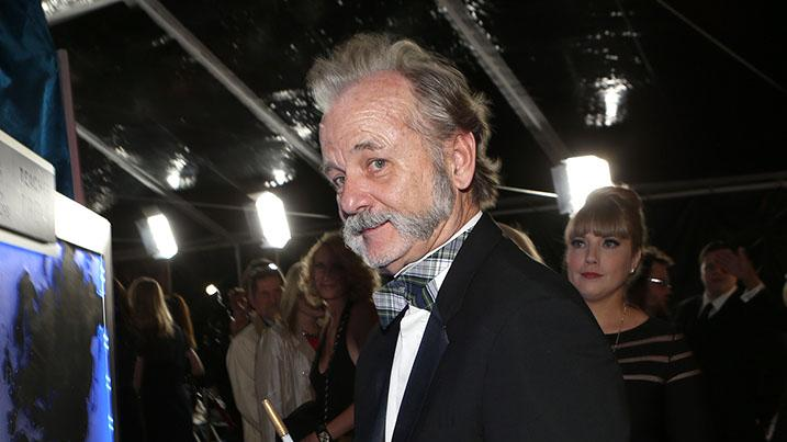 NBCUniversal Golden Globes Viewing And After Party - Red Carpet: Bill Murray