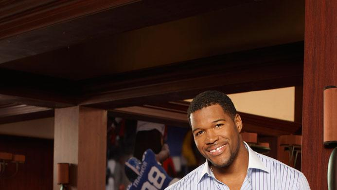 Daryl Mitchell and Michael Strahan star in the Fox series Brothers.