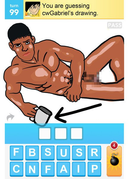 25 best drawings from Draw Something