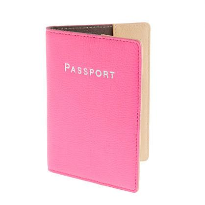 Colorblock Passport Cover