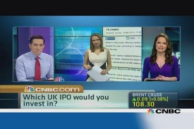 A boom in UK IPOs