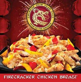 Panda Express Offers Free Firecracker Chicken Breast(TM) for Chinese New Year Jan. 23 Only