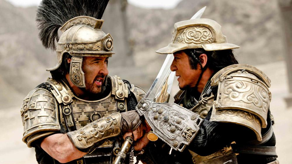 Watch: Jackie Chan, John Cusack Face Off in 'Dragon Blade' Trailer