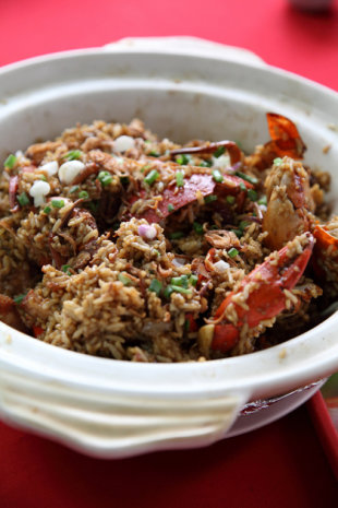 Crab Claypot Rice