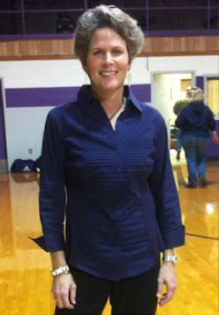 Dayna Westbrook will coach both the boys and girls basketball team at Douglass High — Family photo