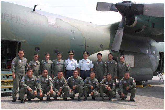 The C-130. Photo from the Philippine Air Force