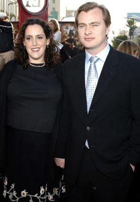 Producer Emma Thomas/contrib> and director Christopher Nolan and at the Hollywood premiere of Warner Bros. Pictures' Batman Begins