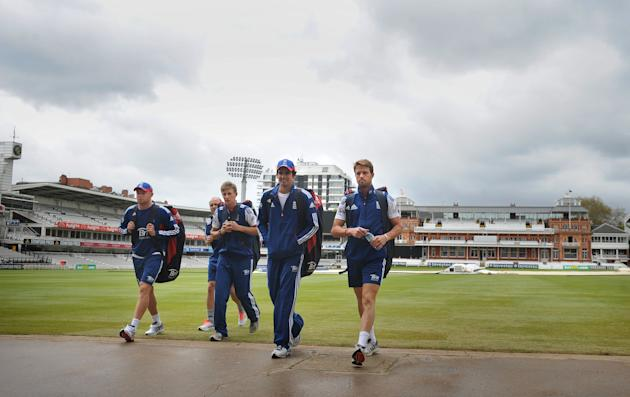 Cricket - Investec Test Series - First Test - England v New Zealand - England Nets Session - Lords