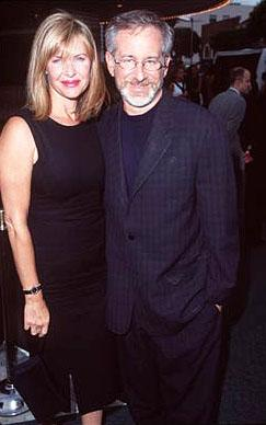 Kate Capshaw and Steven Spielberg at the Westwood premiere of Dreamworks' Saving Private Ryan