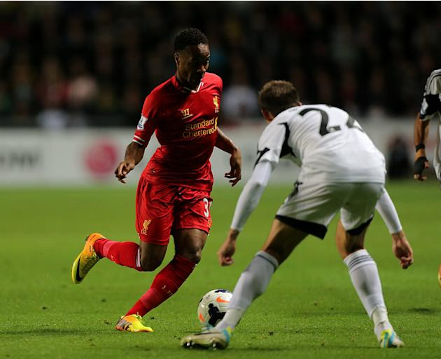 Soccer - Barclays Premier League - Swansea City v Liverpool - Liberty Stadium