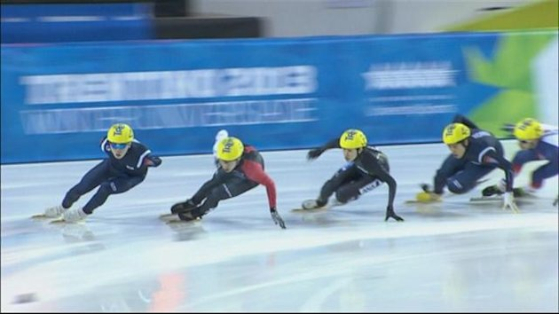 Short-track speed skating