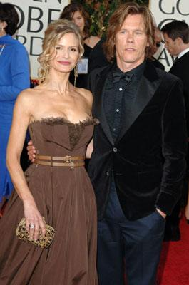 Kevin Bacon and Kyra Sedgwick 63rd Annual Golden Globe Awards - Arrivals Beverly Hills, CA - 1/16/05