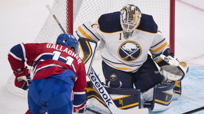Grigorenko's SO goal lifts Sabres over Canadiens