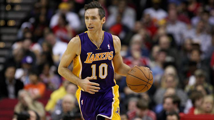 NBA: Los Angeles Lakers at Houston Rockets