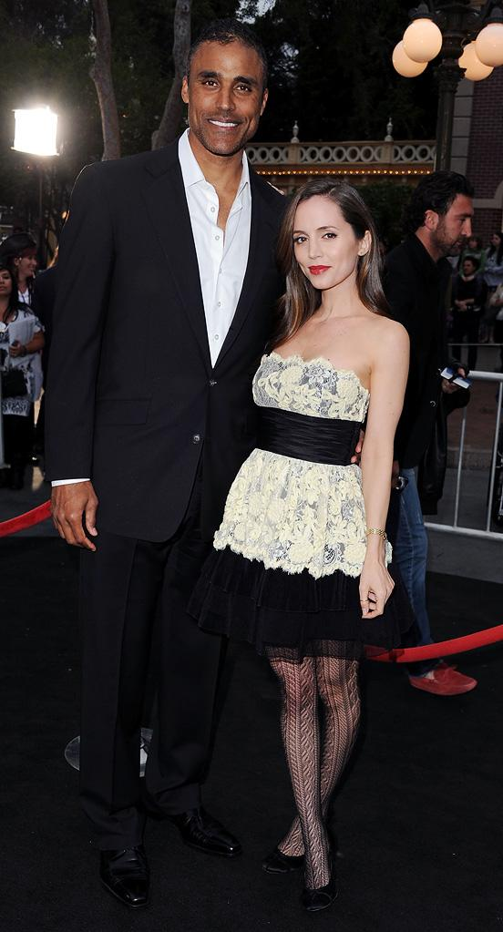 Pirates of the Caribbean On Stranger Tides LA Premiere 2011 Rick Fox Eliza Dushku