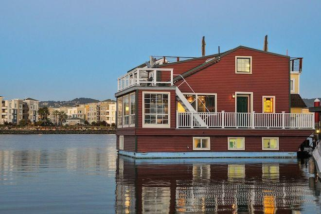 Bay Area Houseboat With Rustic Charm Asks $749K