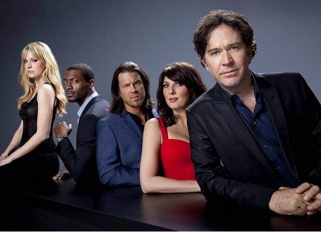 The cast of &quot;Leverage.&quot; 