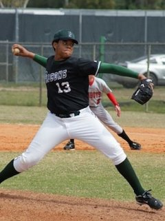 Flanagan pitcher Jose Mesa Jr. — Facebook