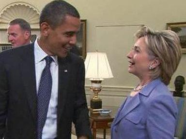 Obama, Hillary Clinton: Rivalry Is 'Ancient History'