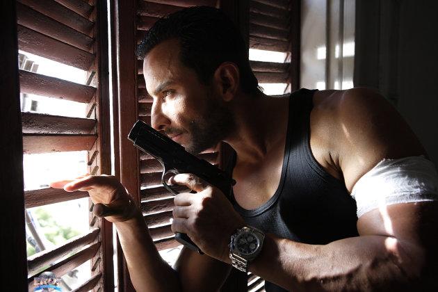Agent Vinod in action