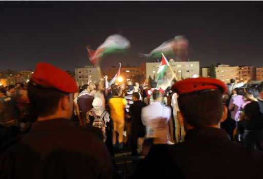 Jordanian Protesters Call For The Closure Of The Israeli Embassy