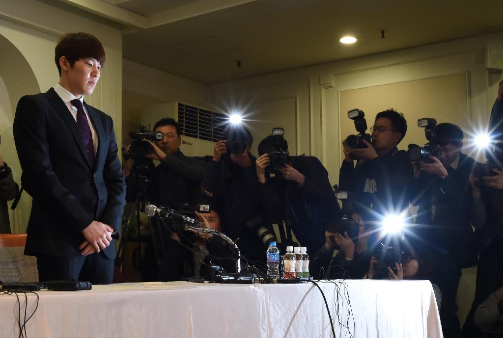 Tearful swimmer Park Tae-Hwan apologises for failed dope test