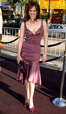 Premiere: Annabeth Gish at the Hollywood premiere of Warner Bros. Pictures' Batman Begins - 6/6/2005