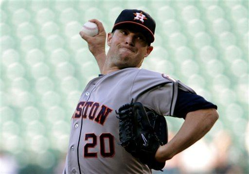 Mariners' Harang allows 2 hits in win over Astros