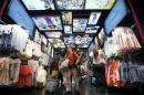 Customers shop at a Primark store on Oxford Street in London