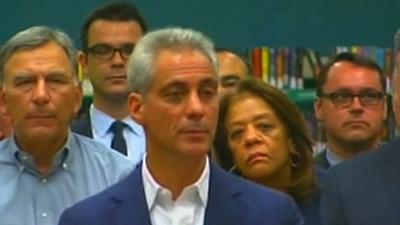 Chicago Mayor Emanuel: Teachers Strike a Choice
