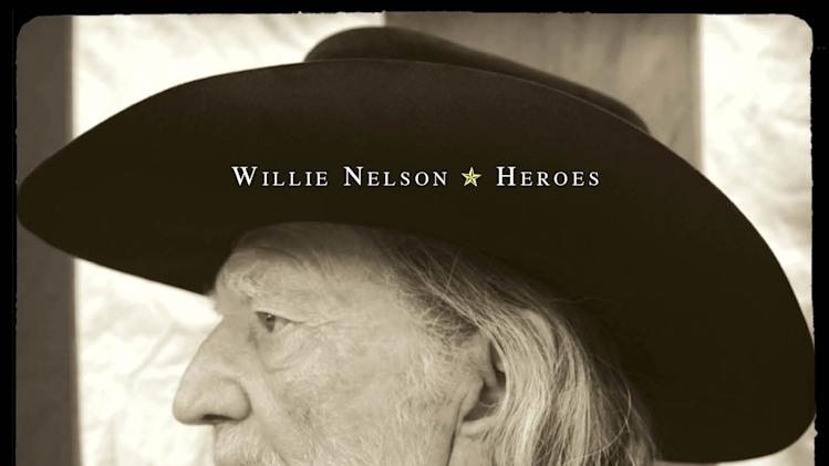 "In this CD cover image released by Legacy Recordings, the latest release by Willie Nelson, ""Heroes,"" is shown. (AP Photo/Legacy Recordings)"