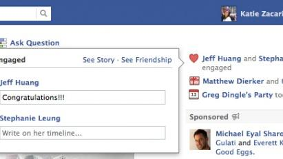 Now You'll Never Miss a Wedding or Engagement on Facebook