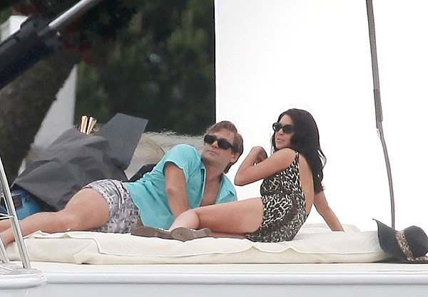 First Pic Of Lindsay Lohan & Grant Bowler As Elizabeth Taylor & Dick Burton