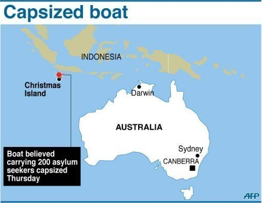 <p>Fears grew Friday that the death toll from a refugee boat disaster off Australia's Christmas Island could soar, as ships and aircraft scouring the seas for survivors found only more bodies.</p>