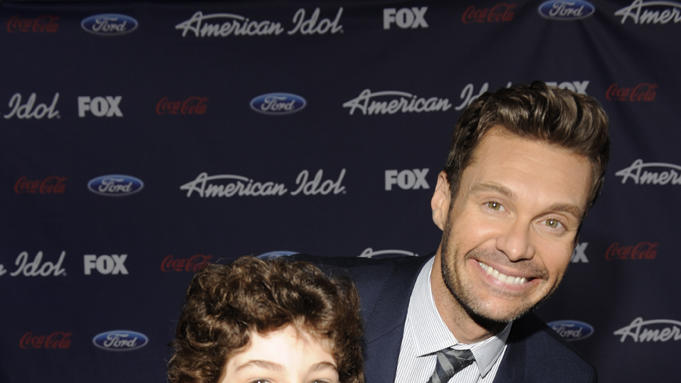 David Mazouz and Ryan Seacrest