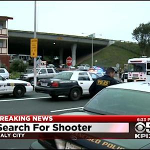Manhunt For Driver Who Shot San Francisco Police Officer